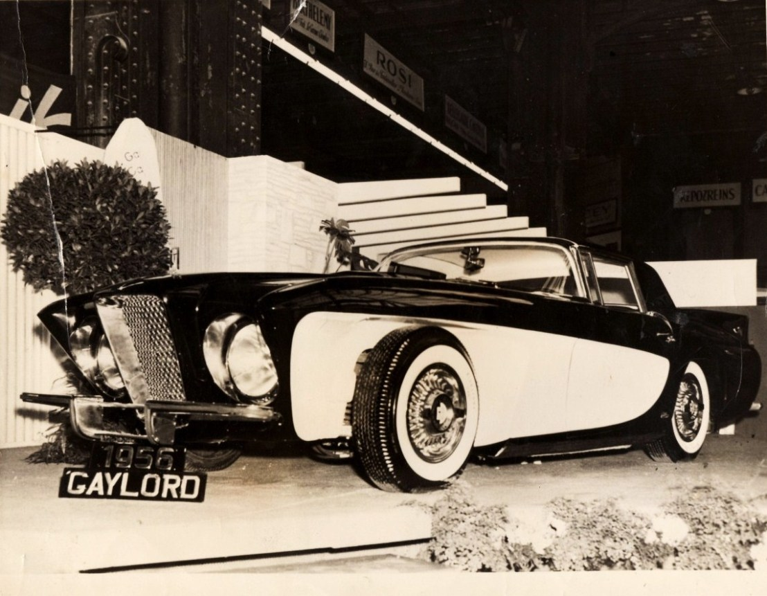 Gaylord Gladiator Sports Touring 1956 Old Concept Cars