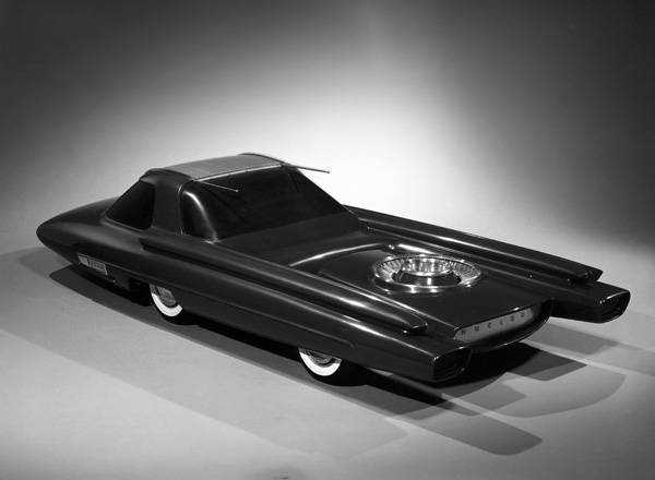Ford Nucleon Concept Car 1958 Old Concept Cars