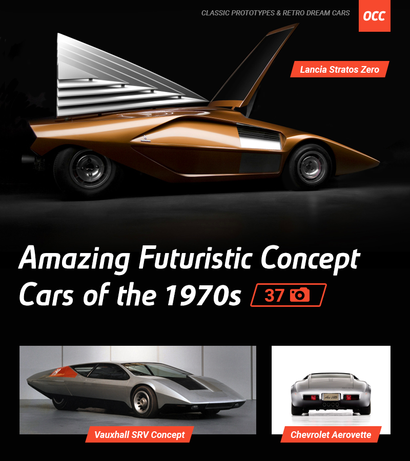 Amazing Futuristic Concept Cars of the 1970s