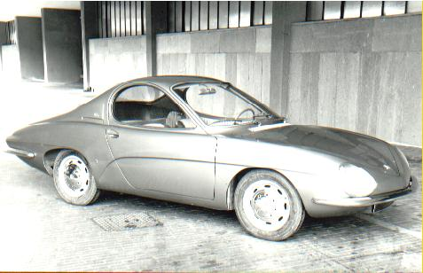 Renault R8 Sport Coupe Prototype 1964 Old Concept Cars