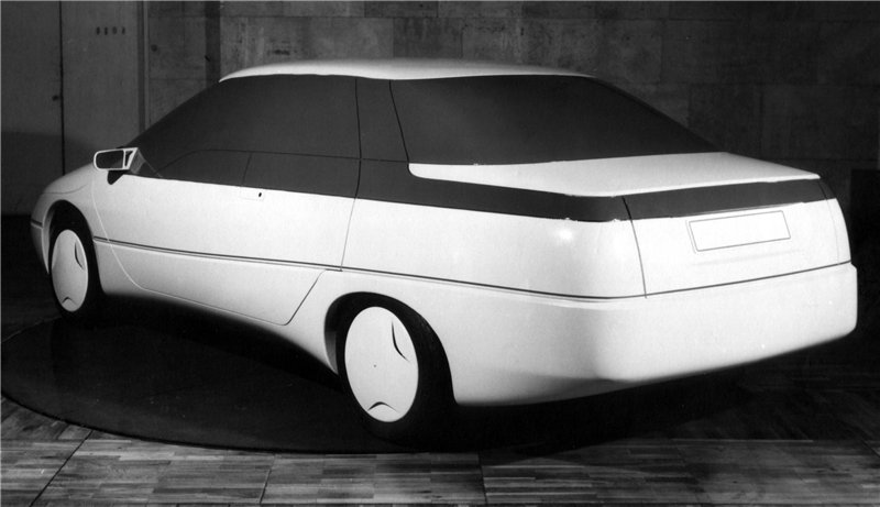 Azlk Istra 1985 Old Concept Cars