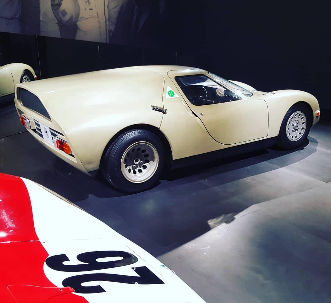 Alfa Romeo Scarabeo Rielaborata (1967)