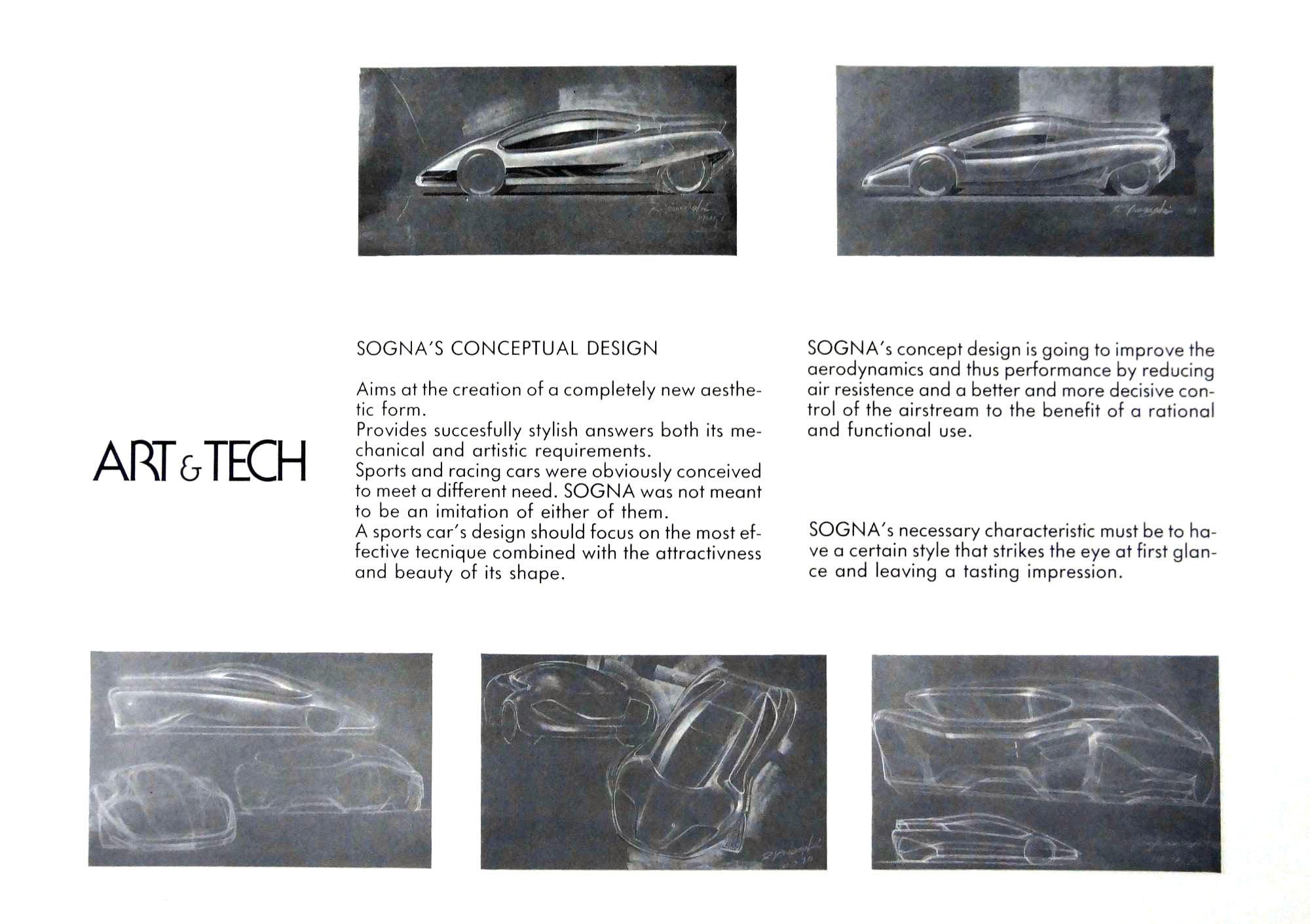 Art Amp Tech Sogna 1991 Old Concept Cars
