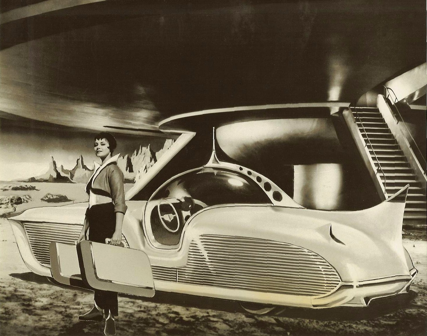 exotic and rare cars astra gnome time and space car 1956 old concept cars