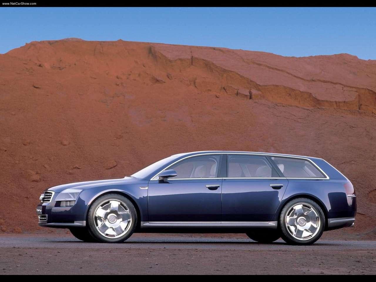 Audi Avantissimo Concept 2001 Old Concept Cars