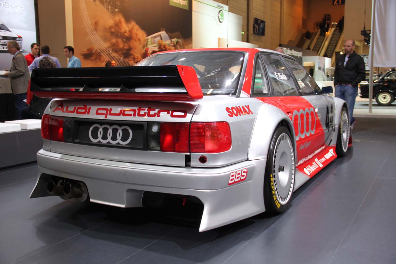 audi 80 quattro 2 5 dtm prototype 1993 old concept cars. Black Bedroom Furniture Sets. Home Design Ideas