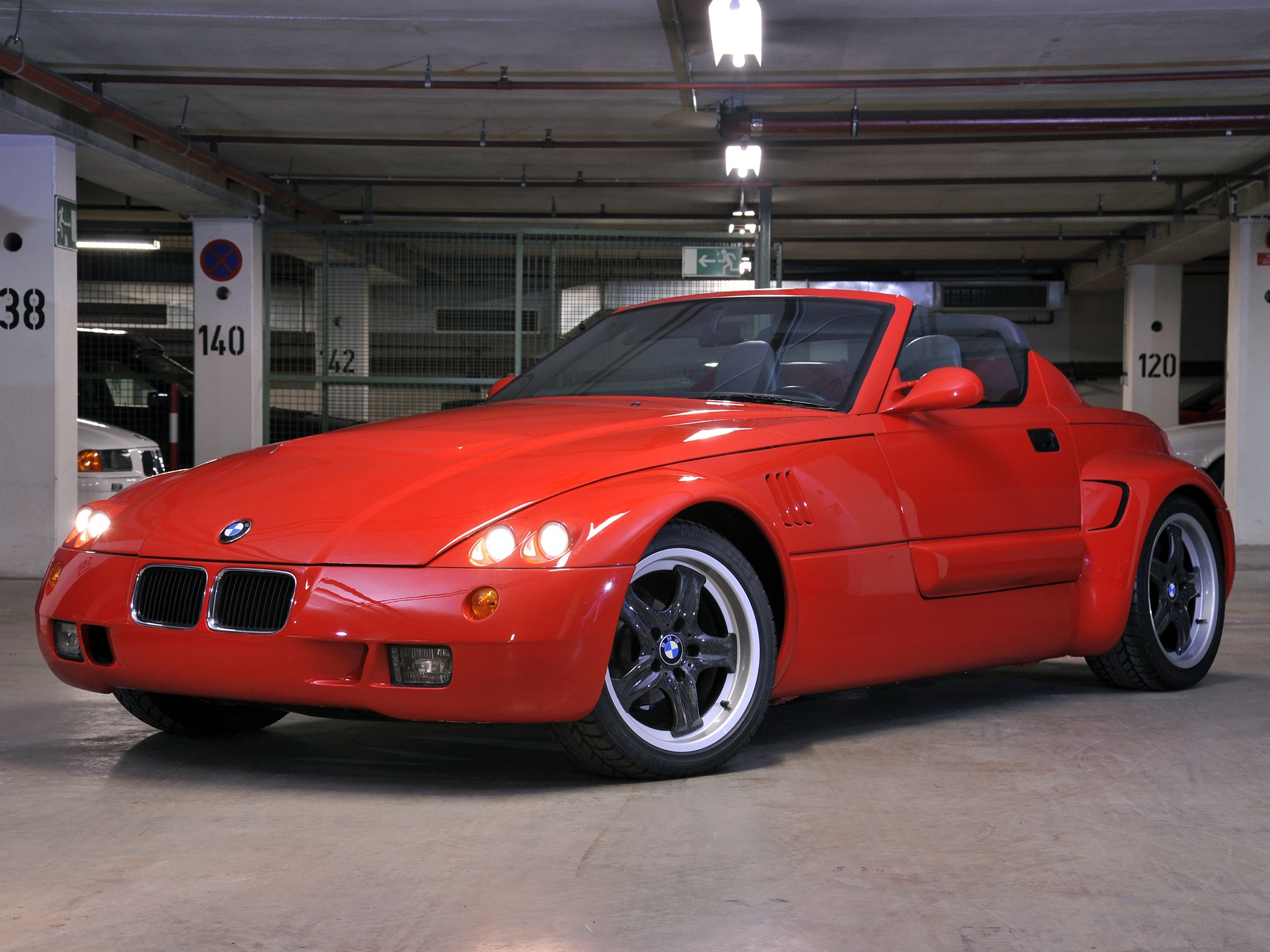 Bmw Ur Roadster Original Roadster 1990 Old Concept Cars