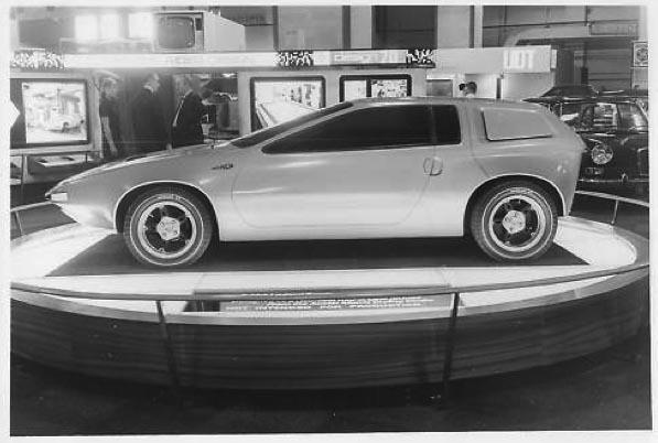Heritage Volkswagen Subaru >> Austin Zanda (1969) - Old Concept Cars