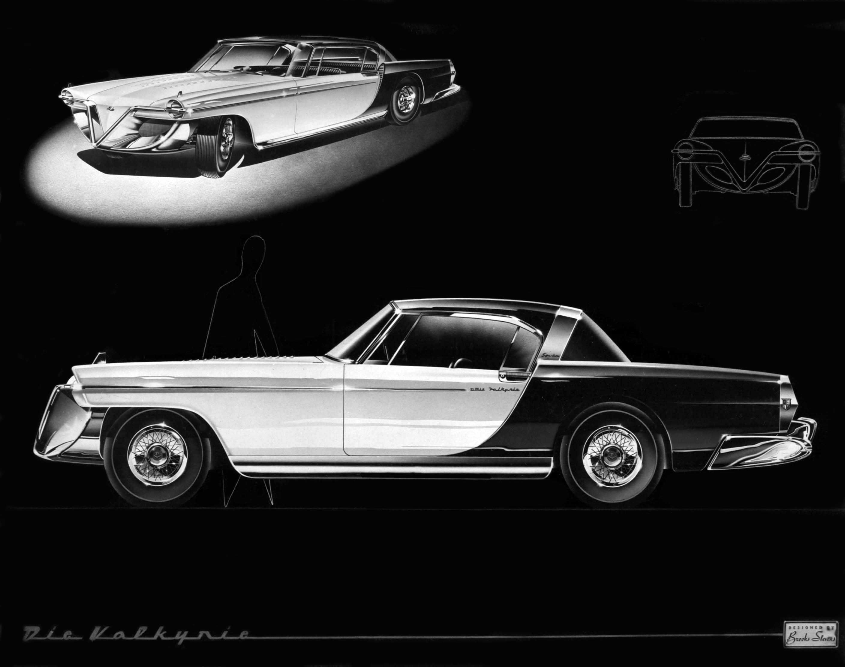 Cadillac Quot Die Valkyrie Quot Designed By Brooks Stevens 1954