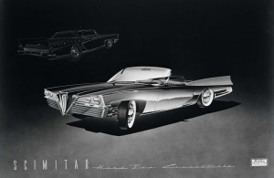 Brooks-Stevens-Olin-Aluminum-Scimitar-1957-Proposal-Hardtop-Convertible