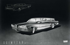Brooks-Stevens-Olin-Aluminum-Scimitar-1957-Proposal-Station-Sedan