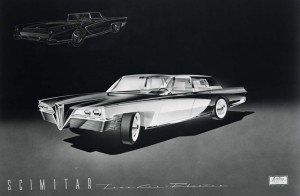 Brooks-Stevens-Olin-Aluminum-Scimitar-1957-Proposal-Town-Car-Phaeton