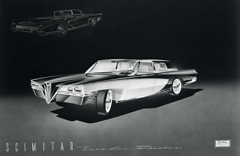 Scimitar 1959 Old Concept Cars