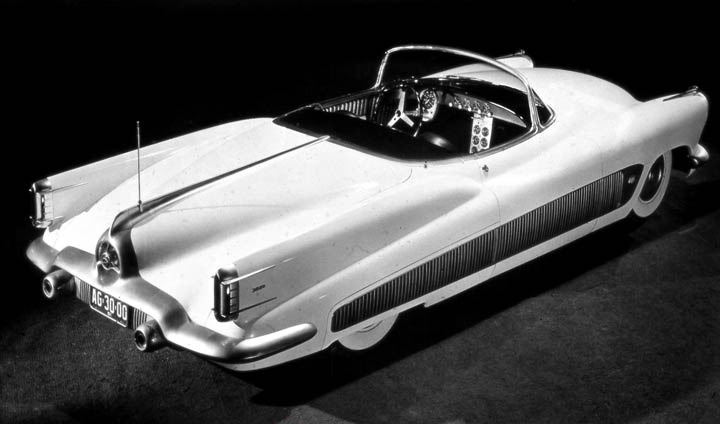 buick xp 300 1951 concept cars experimental
