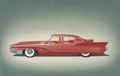 Chrysler Imperial D Elegance 1958 Old Concept Cars