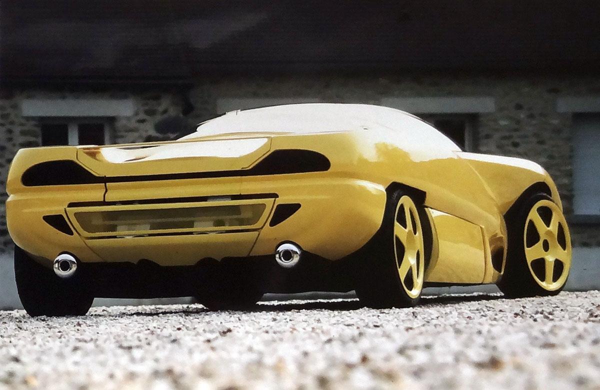 Design Performance Barramunda 1994 Old Concept Cars