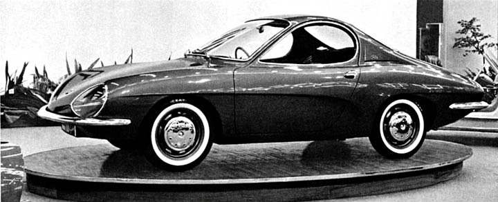Subaru Near Me >> Renault R8 Sport Coupe Prototype (1964) - Old Concept Cars