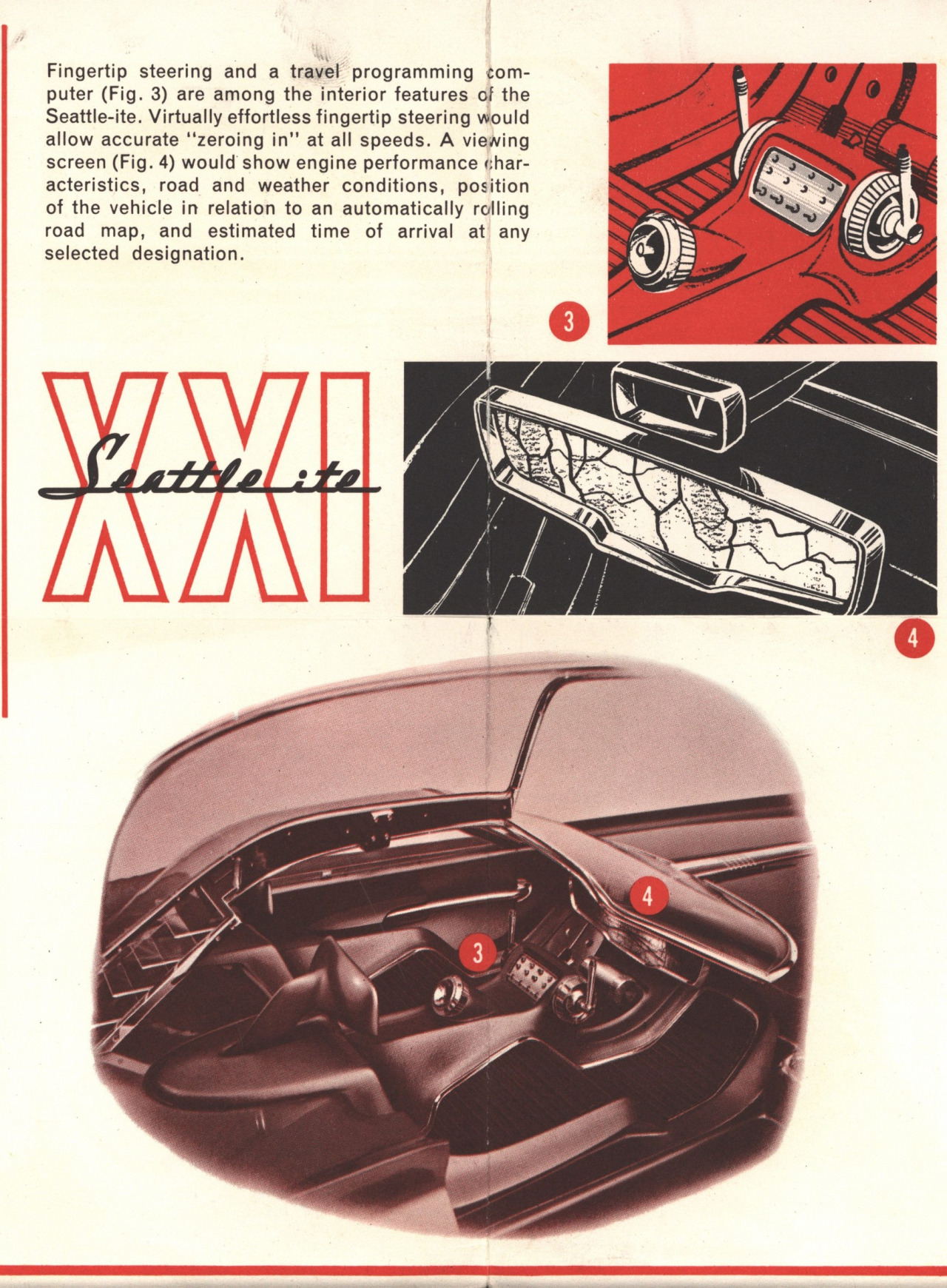 Ford Seattle-Ite XXI Concept Car (1962) - Old Concept Cars