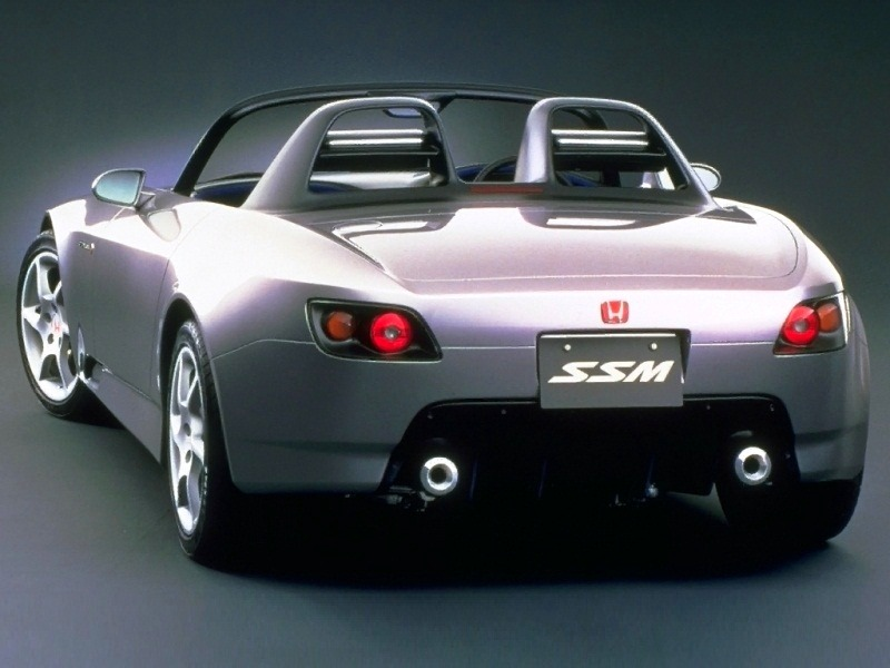 Acclaimed As The Star Of The 1995 Tokyo Motor Show, The SSM, Which Stands  For Sport Study Model, May Enter Production In An Attempt By Honda To  Sharpen Its ...