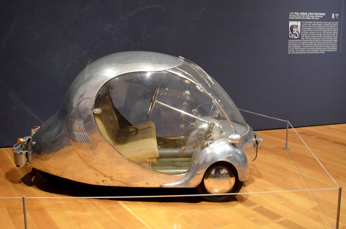Subaru Near Me >> Paul Arzens L'Oeuf Electrique (1942): The Electric Egg - Old Concept Cars