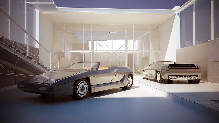 """[Concepts] Les """"vieux"""" concepts ! - Page 23 Lamborghini_Athon_Speedster_Concept_1980_2"""