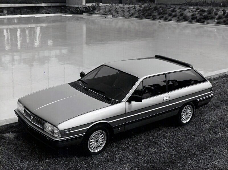 Lancia Gamma Olgiata on 1982 Subaru 4 Door