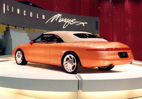 Lincoln Marque X Concept on Lincoln Mark Viii Engine