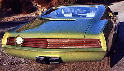 Mercury El Gato 1970 Old Concept Cars