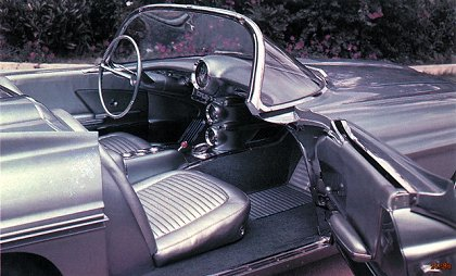 Oldsmobile F-88 Mark II Concept Car (1957) - Old Concept Cars