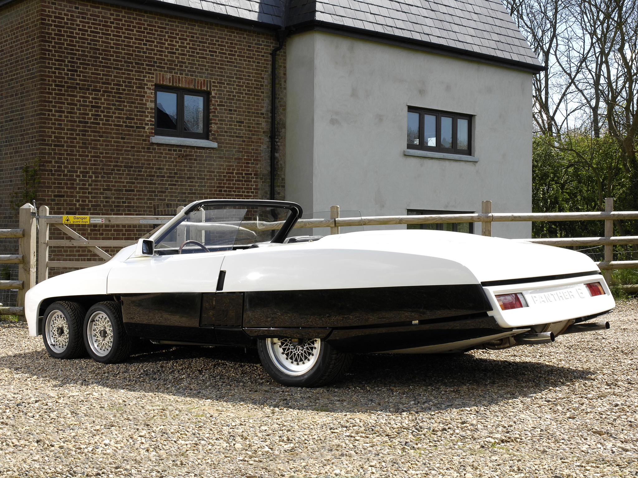 Panther 6 Six 1977 Old Concept Cars