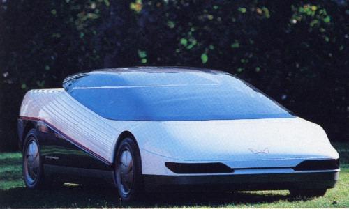 Honda Hp X 1984 Old Concept Cars