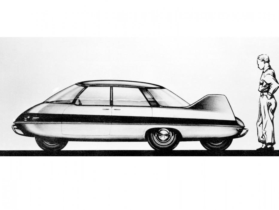 Subaru Dealer Near Me >> Pininfarina Model X (1960) - Old Concept Cars