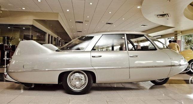 Bmw Dealer Near Me >> Pininfarina Model X (1960) - Old Concept Cars