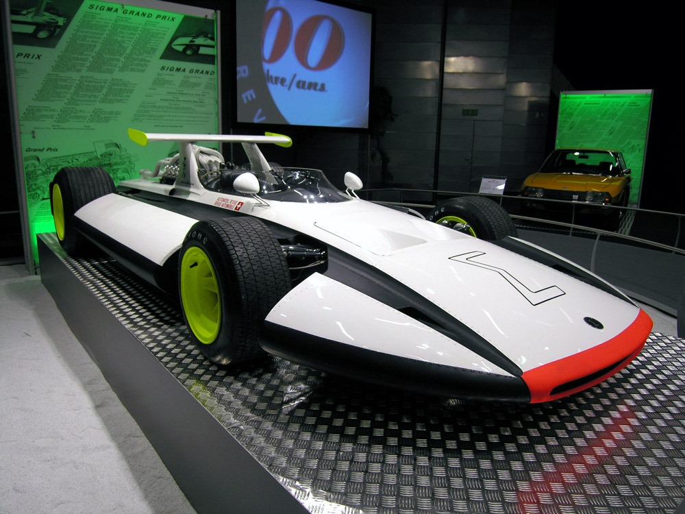 Pininfarina Sigma Grand Prix Monoposto F on 2004 Pontiac Grand Prix