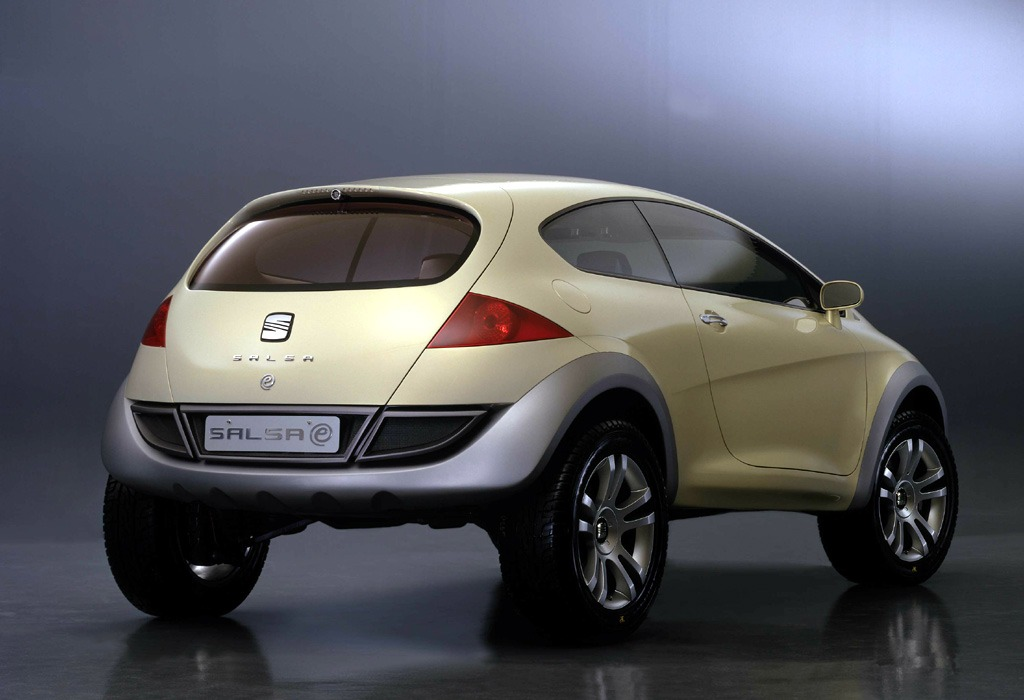 Seat Salsa Emoci 243 N Concept 2000 Old Concept Cars