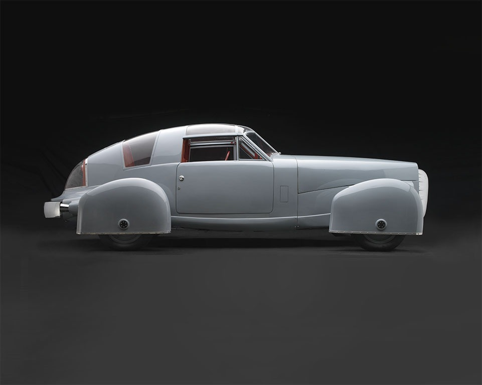 Tasco Prototype by Gordon Buehrig (1948): Part Plane, Part Car