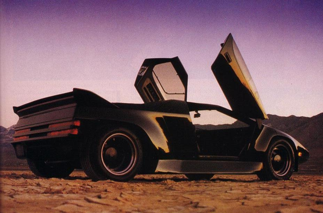 Vector W2 Twin Turbo 1980 Old Concept Cars