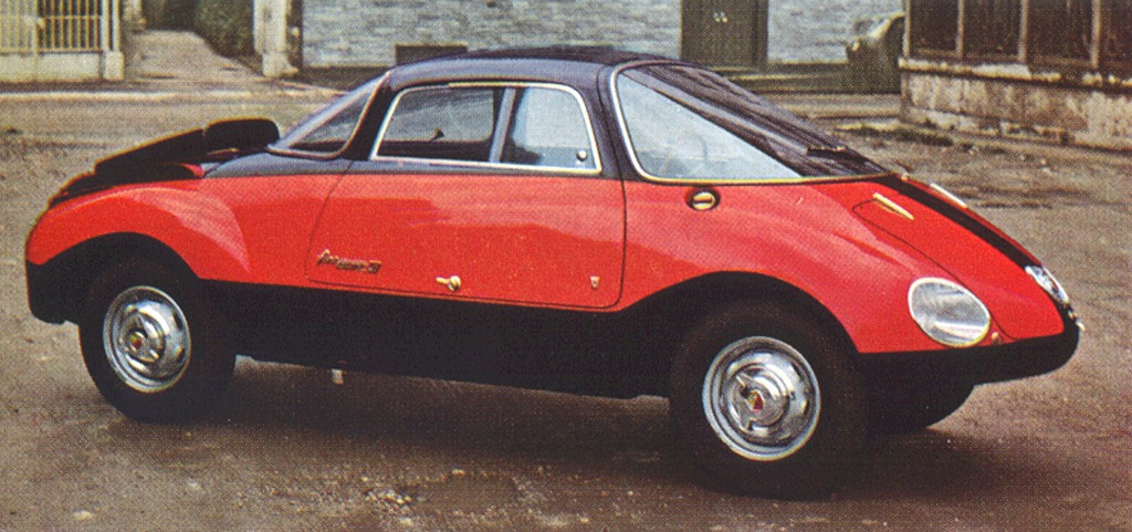 Abarth 750 Coupe Goccia (1957)