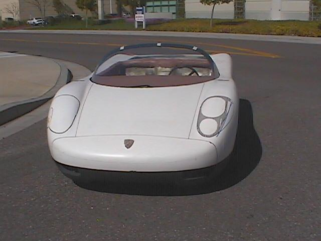 Porsche 914 Alberto Hernandez Designs 2001 Old Concept