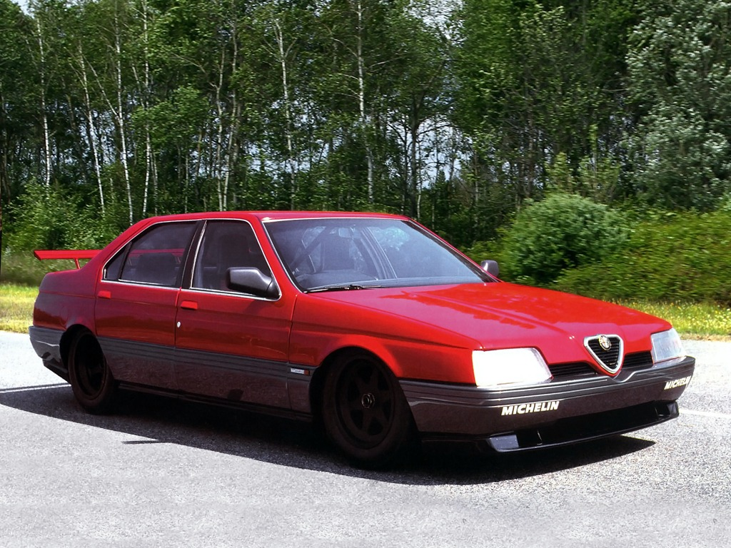 alfa romeo 164 pro-car (1988) – old concept cars