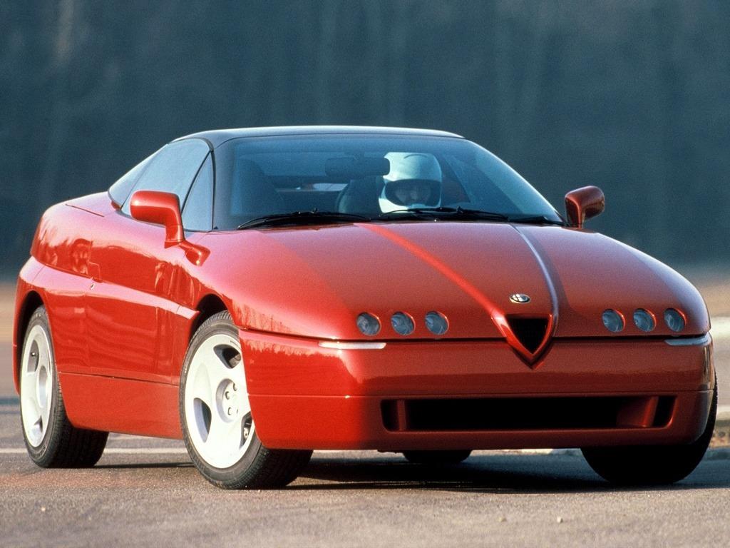 alfa romeo 164 proteo (1991) – old concept cars