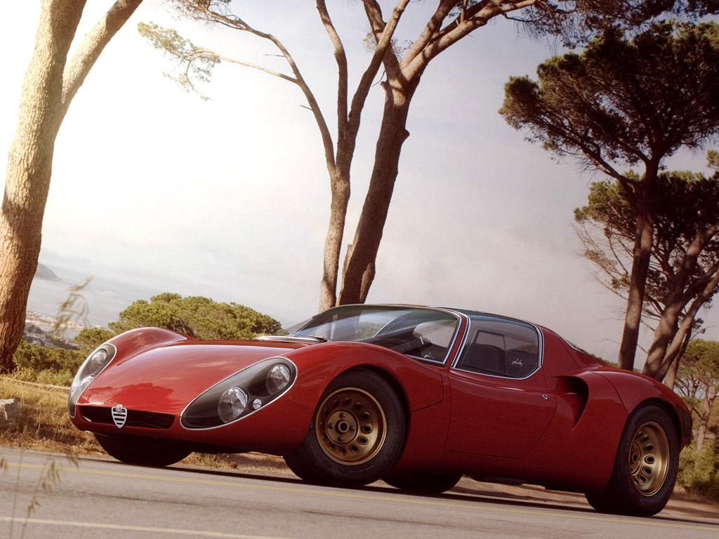alfa romeo tipo  stradale   concept cars