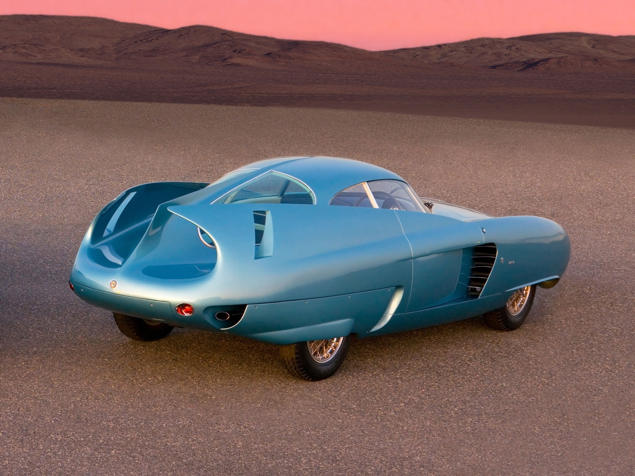 1954 alfa romeo bat 5 concept car.