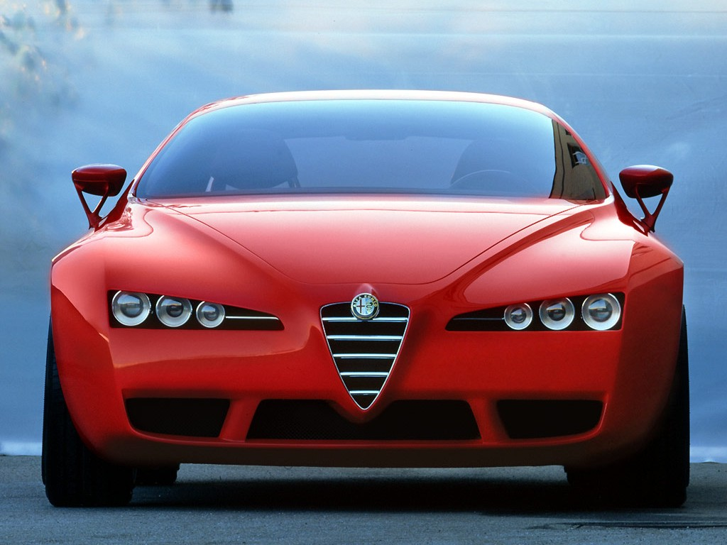 alfa romeo brera concept 2002 old concept cars. Black Bedroom Furniture Sets. Home Design Ideas