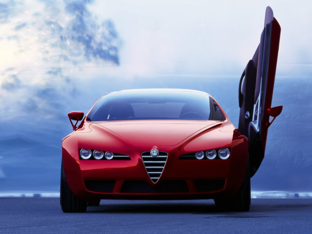 """Alfa Romeo Brera Concept (2002)"" — card from user annamedyanik in  Yandex.Collections"