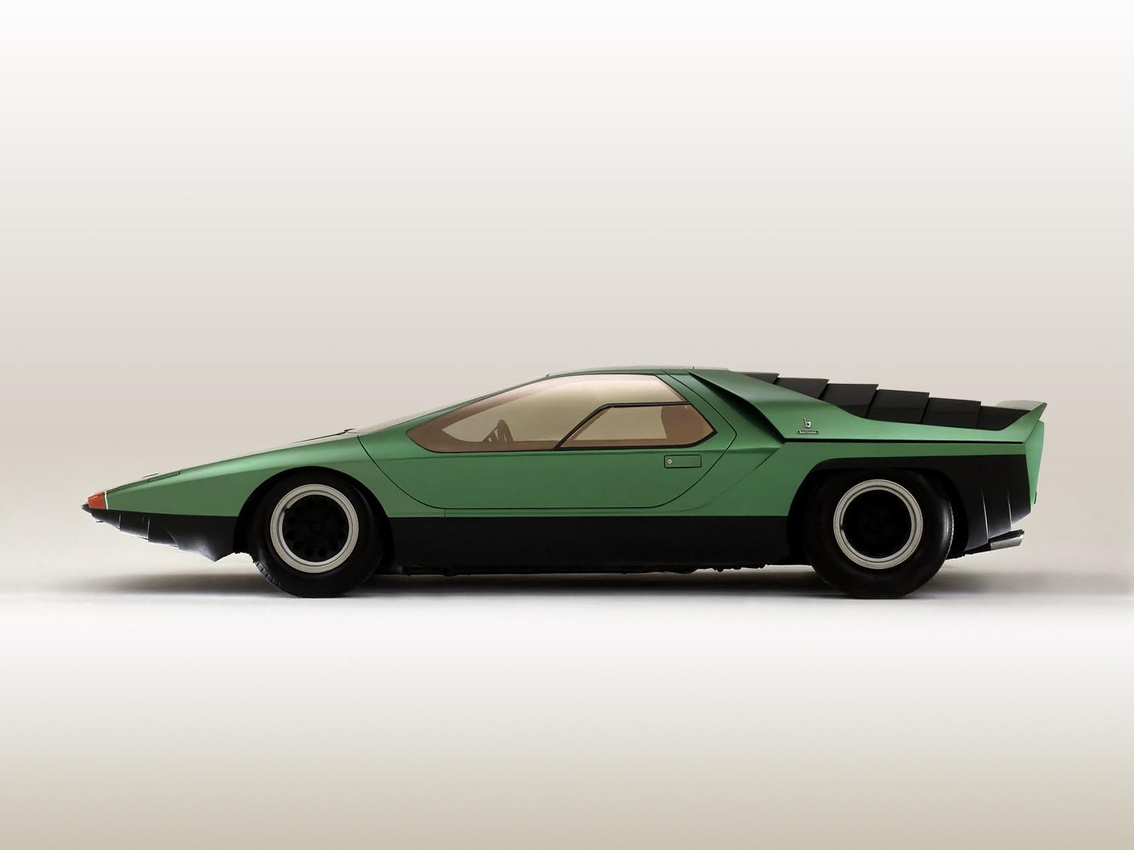 alfa romeo carabo   concept cars