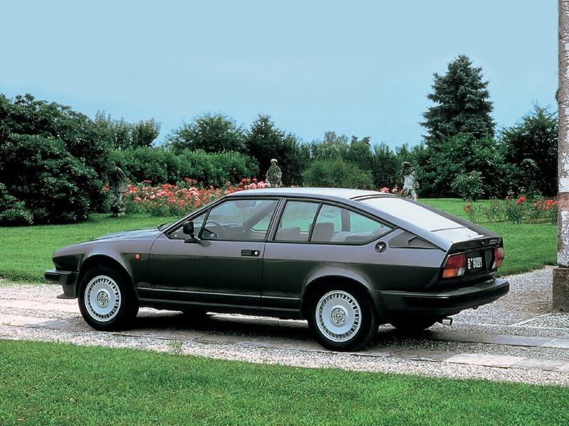 Alfa Romeo GTV 6 2.5 (116) 1980–83 – Old Concept Cars