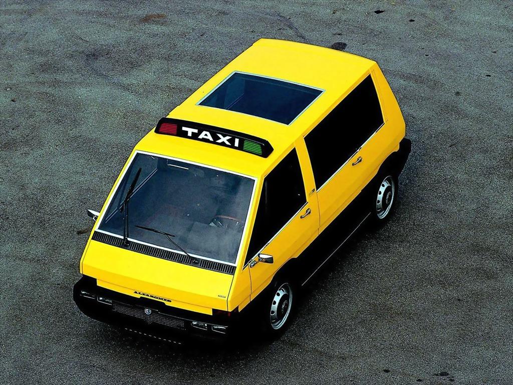 Alfa Romeo New York Taxi Concept (1976) - Old Concept Cars