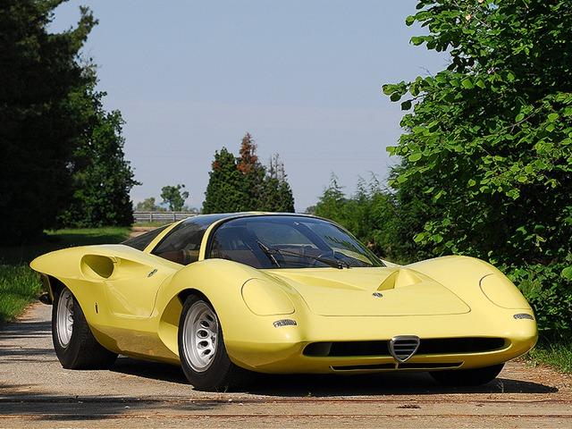 Subaru Dealer Near Me >> Alfa Romeo Tipo 33/2 Coupe Speciale (1969) - Old Concept Cars