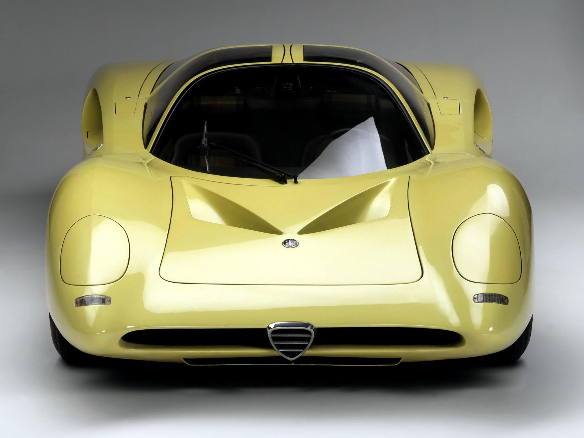 Alfa Romeo Tipo 33 2 Coupe Speciale 1969 Old Concept Cars